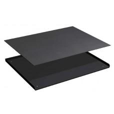 3-zijdige opstaande rand met rubber mat voor ladekast 36x27