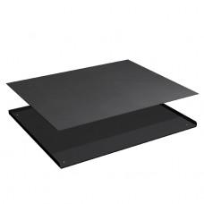 3-zijdige opstaande rand met rubber mat voor ladekast 45x36