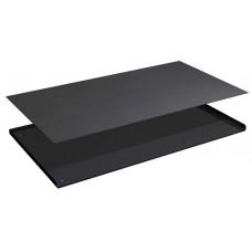 3-zijdige opstaande rand met rubber mat voor ladekast 54x27