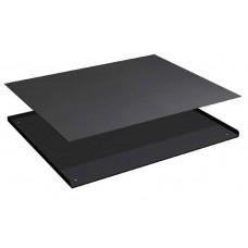 3-zijdige opstaande rand met rubber mat voor ladekast 54x36