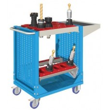 Famepla CNC Gereedschap Trolley, 826 mm hoog