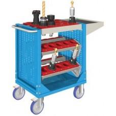 Famepla CNC Gereedschap Trolley, 880 mm hoog