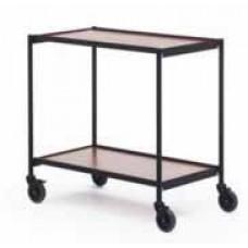 Ergobjörn tafel trolley grijs gelakt frame
