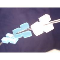 Borgplug kleur blauw