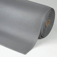 Crossrib-Sof-Tred™ antivermoeidheids- en veiligheidsmat, grijs, 600 x 910 mm