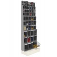 """Unibox """"stand-alone"""" rek kompleet, 600 x 325 x 1750 mm"""