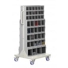 Unibox kantelbak montagewagen kompleet, 750 x 600 x 1365 mm
