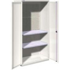 Famepla Vleugeldeurkast, 1026 x 555 x 2000 mm (b x d x h), dichte deuren