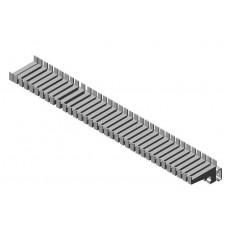 Adiform meetsnoerrek wandmontage (cap. 68 meetsnoeren)