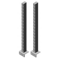 Gesleufde staander voor gereedschapsborden (kort)