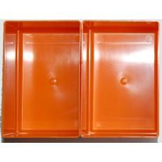 EMM bakjes oranje afm. 104x156x55 mm